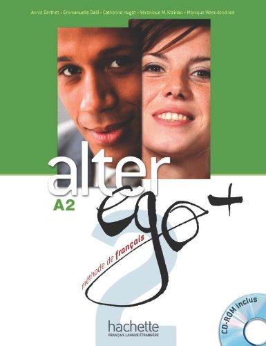 9782011558121: Alter Ego. Niveau A2+ . Livre De L'Élève (+ CD)