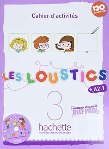 9782011559166: Les Loustics 3: Cahier d'activites + CD Audio (French Edition)