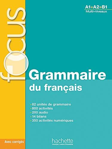 9782011559647: Focus: Grammaire Du Francais + Corriges + CD Audio + Parcours Digital: Focus: Grammaire Du Francais + CD Audio + Parcours Digital (French Edition)