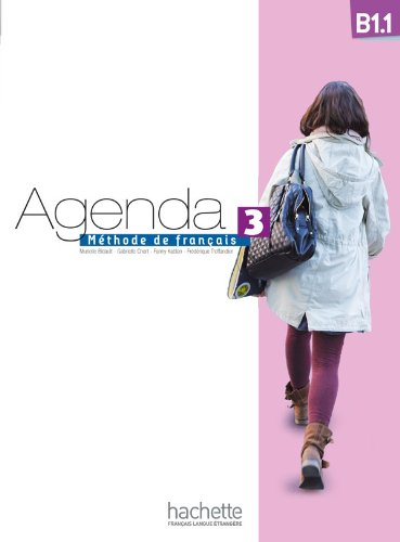 9782011559913: Agenda 3 B1.1: Livre de L'Eleve + DVD-ROM (French Edition)