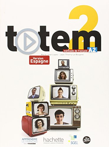 9782011560636: Sgel - Totem 2 - Livre Eleve + DVD-ROM