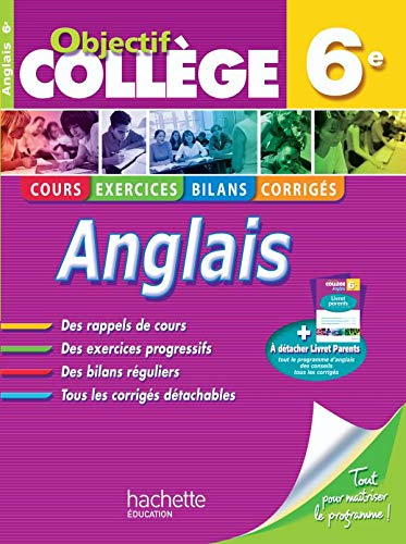 9782011600547: Anglais 6e (French Edition)