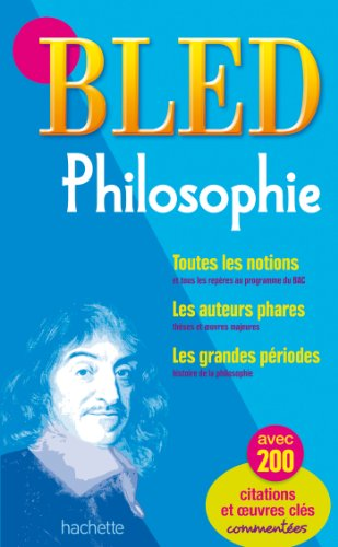 9782011600882: Bled Philosophie