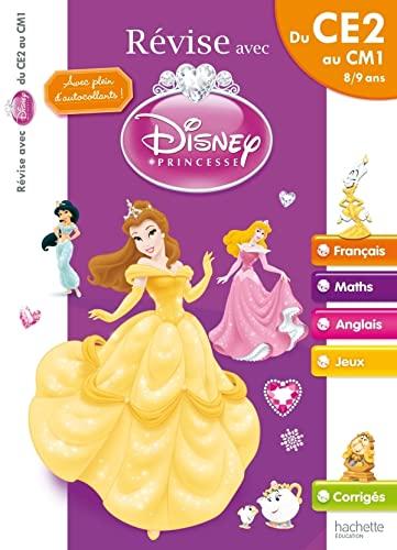 9782011601186: Révise avec Disney Princesse Du CE2 au CM1, 8-9 ans (French Edition)