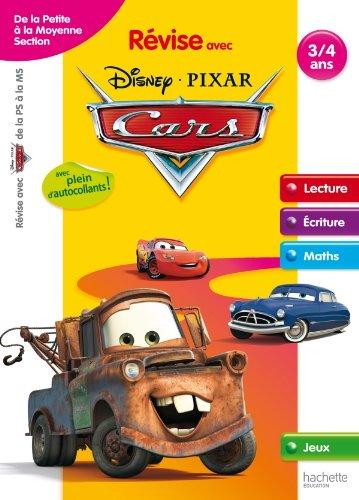 9782011603241: R�vise avec Cars - De la Petite Section � la Moyenne Section