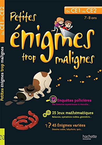 9782011603340: Petites énigmes trop malignes (French Edition)