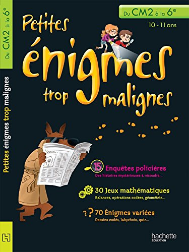 9782011603371: Petites énigmes trop malignes (French Edition)
