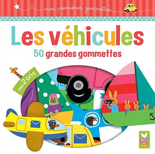 9782011603906: Les véhicules : 50 grandes gommettes