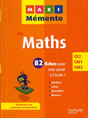 9782011604026: Maths (French Edition)