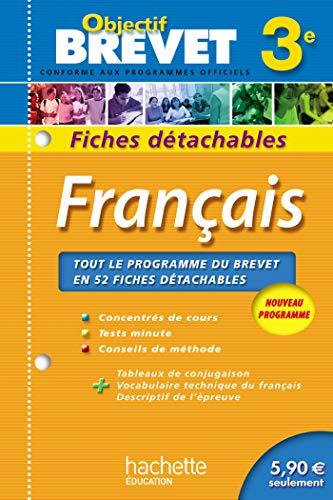 9782011607706: Objectif Brevet - Fiches détachables - Français 3e