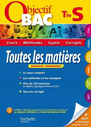 9782011607775: Objectif Bac - Toutes les matières Terminale S
