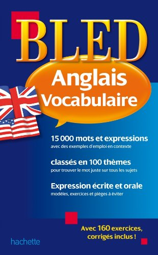 9782011608697: Bled Vocabulaire Anglais (French Edition)