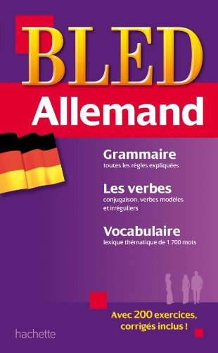 9782011608734: Bled Allemand