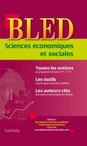 9782011608789: Sciences économiques et sociales