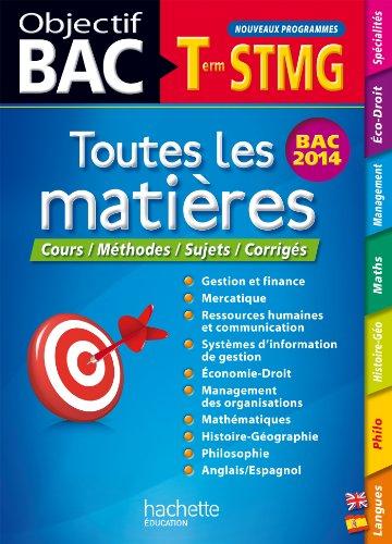 Objectif Bac - Toutes les matières Terminale: Martine Burnens; Oscar