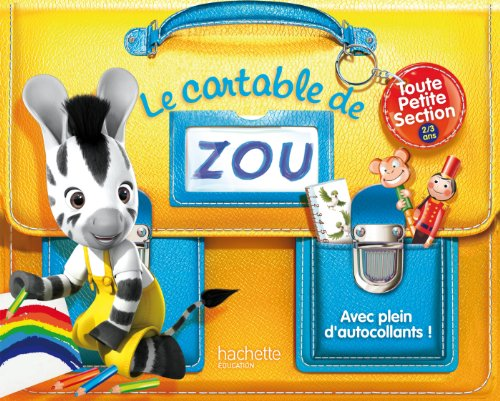 9782011611833: Le cartable de Zou - TPS