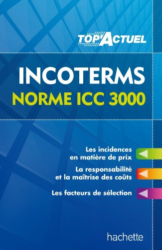 9782011612045: TOP'Actuel - INCOTERMS NORME ICC 3000