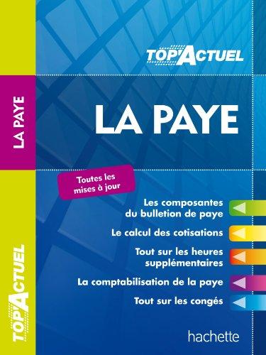 9782011612052: TOP'Actuel - La paye 2013/2014