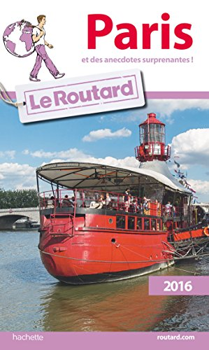 9782011612472: Guide du Routard Paris 2016 (French Edition)