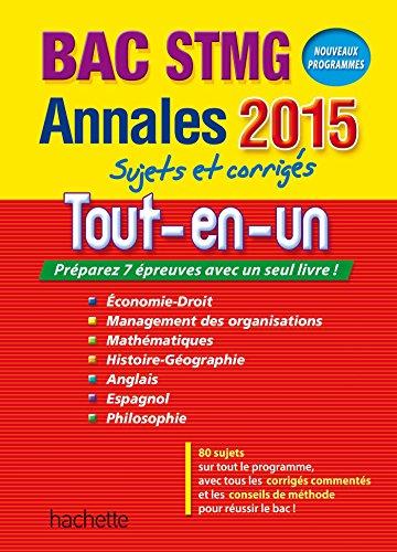 9782011622310: ANNALES 2015 Tout-en-un Bac STMG