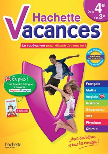 9782011622365: Hachette Vacances de la 4e à la 3e