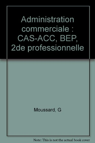 Administration commerciale