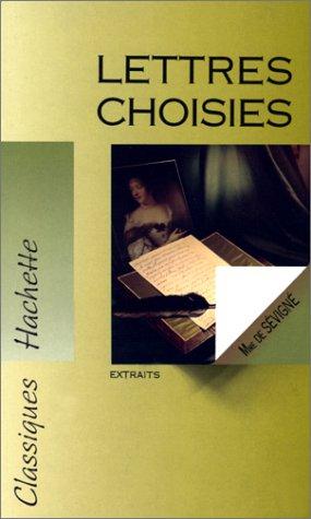9782011671127: LETTRES CHOISIES