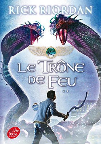 9782011672421: Kane Chronicles, Tome 2 : Le trône de feu