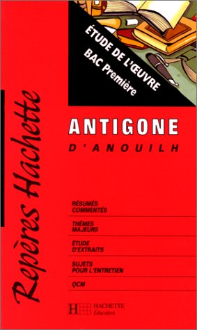 9782011676306: Antigone, de Jean Anouilh