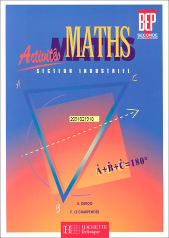 9782011678607: Activités maths, 2de professionnelle : secteur industriel