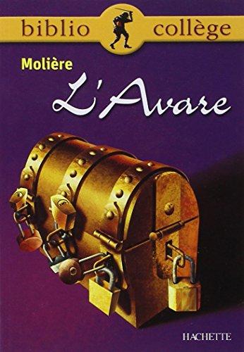 9782011679598: L'Avare, texte intégral