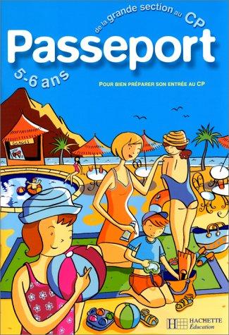 9782011681799: Passeport : De la maternelle au CP - 5-6 ans