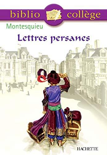 9782011686923: Lettres persanes: choix de lettres