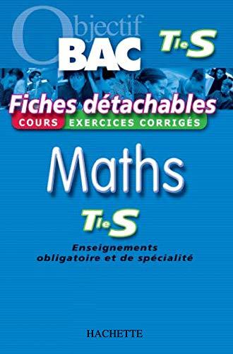 9782011687302: Fiches détachables : Mathématiques, Terminale S