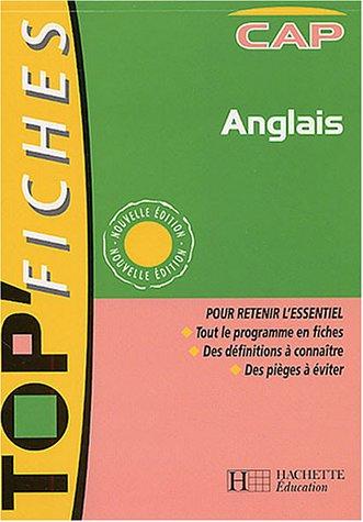 9782011688644: Top Fiches : Anglais CAP (livre de l'élève)