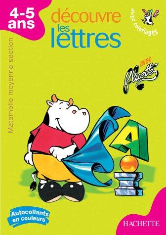 9782011688736: Découvre les lettres : Moyenne section maternelle