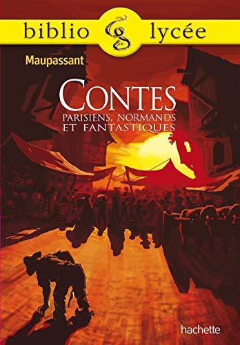 9782011691194: Contes parisiens, normands et fantastiques
