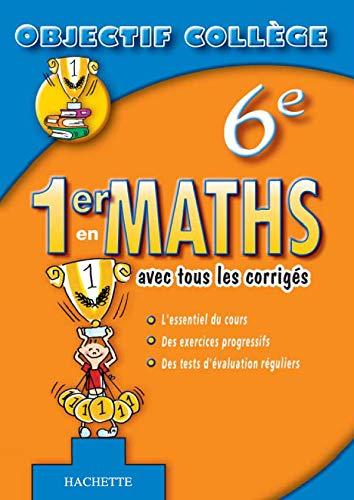 9782011691590: 1er en maths 6e
