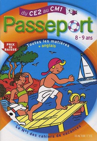 9782011694164: Passeport du CE2 au CM1 : Toutes les matières et anglais