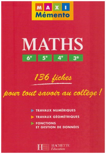 Maths 6e, 5e, 4e, 3e: Curel, Pierre, Curel,