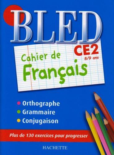 9782011695567: Cahier de français CE2