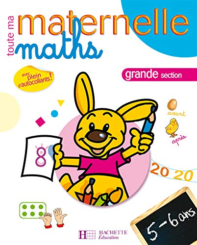 9782011696694: Maths grande section : 5-6 ans