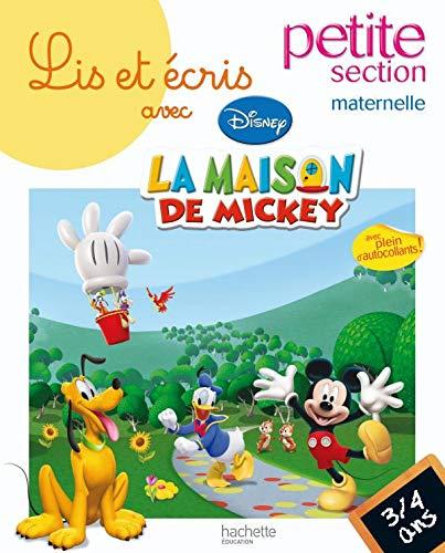 9782011698018: Lis et écris avec la maison de Mickey petite section maternelle (French Edition)