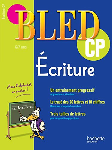 9782011698339: Cahiers Bled - Écriture CP
