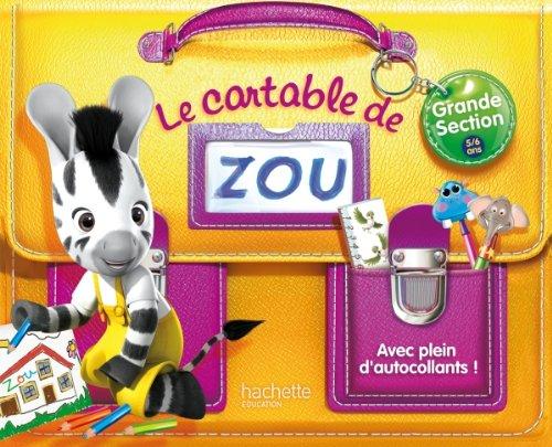 9782011700384: Le cartable de Zou - GS