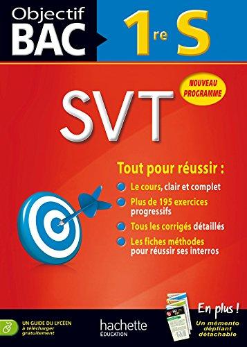 9782011700674: Objectif Bac - SVT 1re S