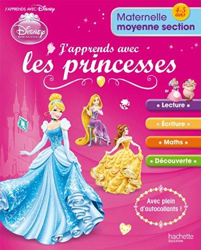 9782011700919: J'apprends avec les Princesses Maternelle Moyenne Section