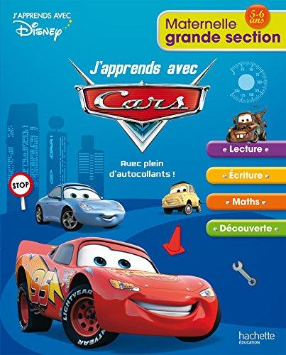 9782011700957: J'apprends avec Cars Maternelle Grande Section