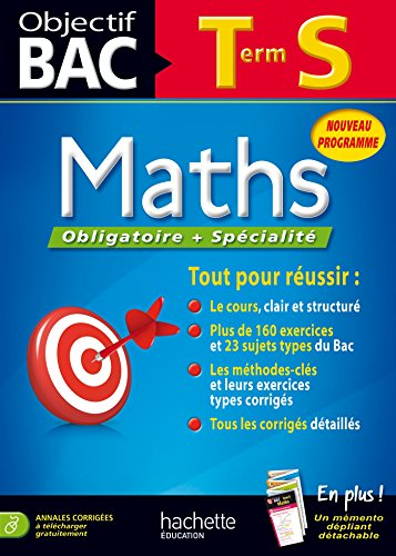9782011701169: Objectif Bac - Maths Terminale S