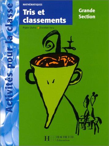 9782011705662: Math�matiques, tris et classement, grande section